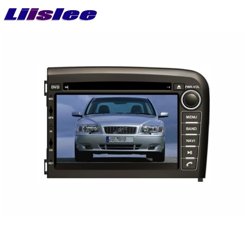 Für VOLVO S80 1998 ~ 2006 LiisLee Auto Multimedia TV DVD GPS Audio Radio Stereo Ursprüngliche Stil Navigation NAVI