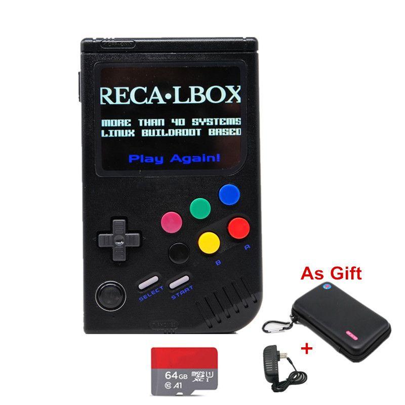 Neue 2,0 Retro LCL-Pi Raspberry Pi Für Game Boy Handheld Videospiel-konsole Spiel Portatil Klassische Spiel-Player raspberry Pi 3B/A +