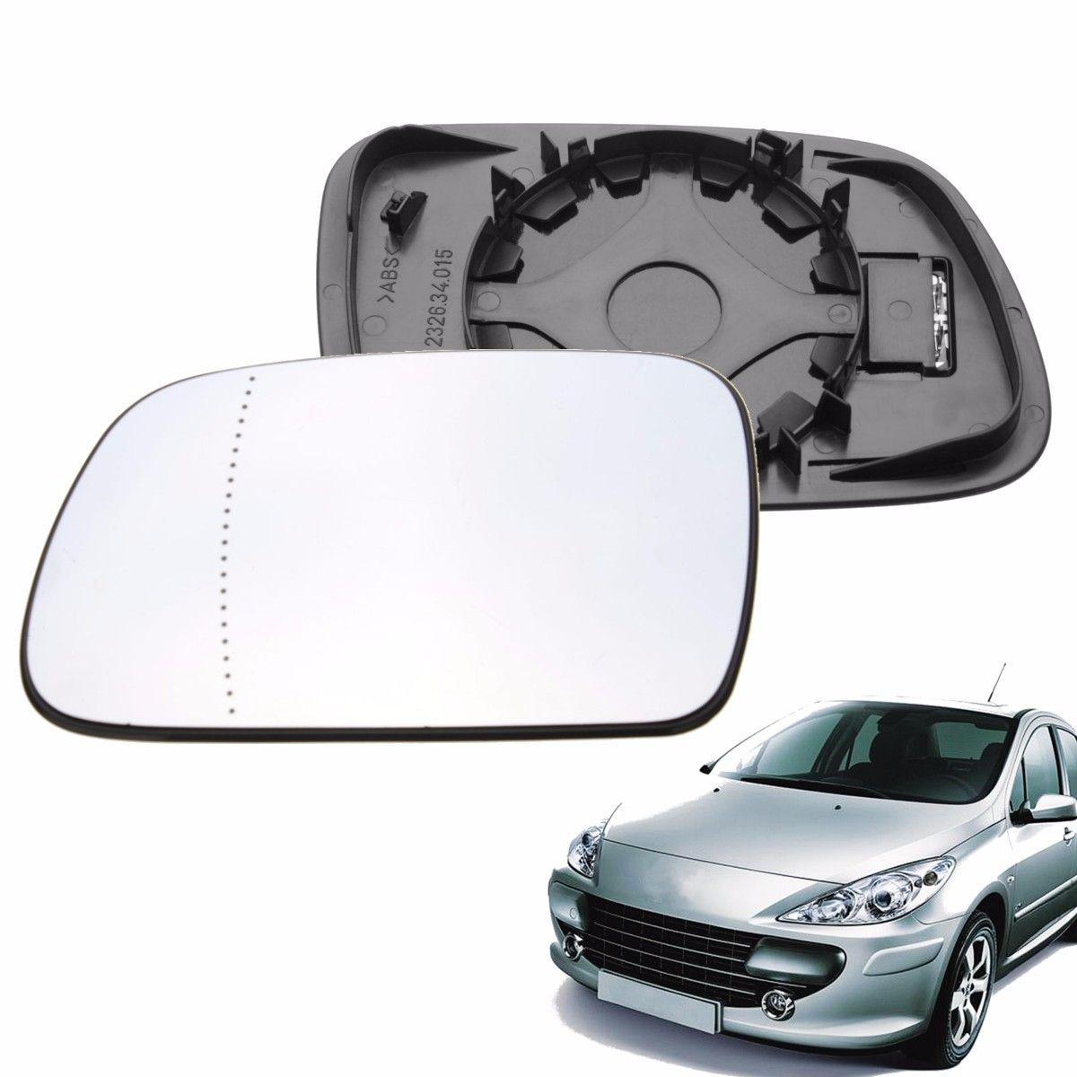 Links Passagier Seite Erhitzt Weitwinkel Flügel Tür Spiegel Glas Für Peugeot 307 407