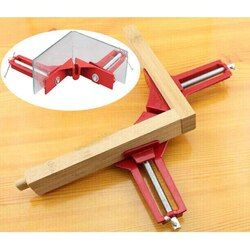 Multifunction 90 degree Corner Clamp Right Angle Clamp Picture Frame Clip 100MM Mitre Corner Holder Woodworking Hand Tool TH4