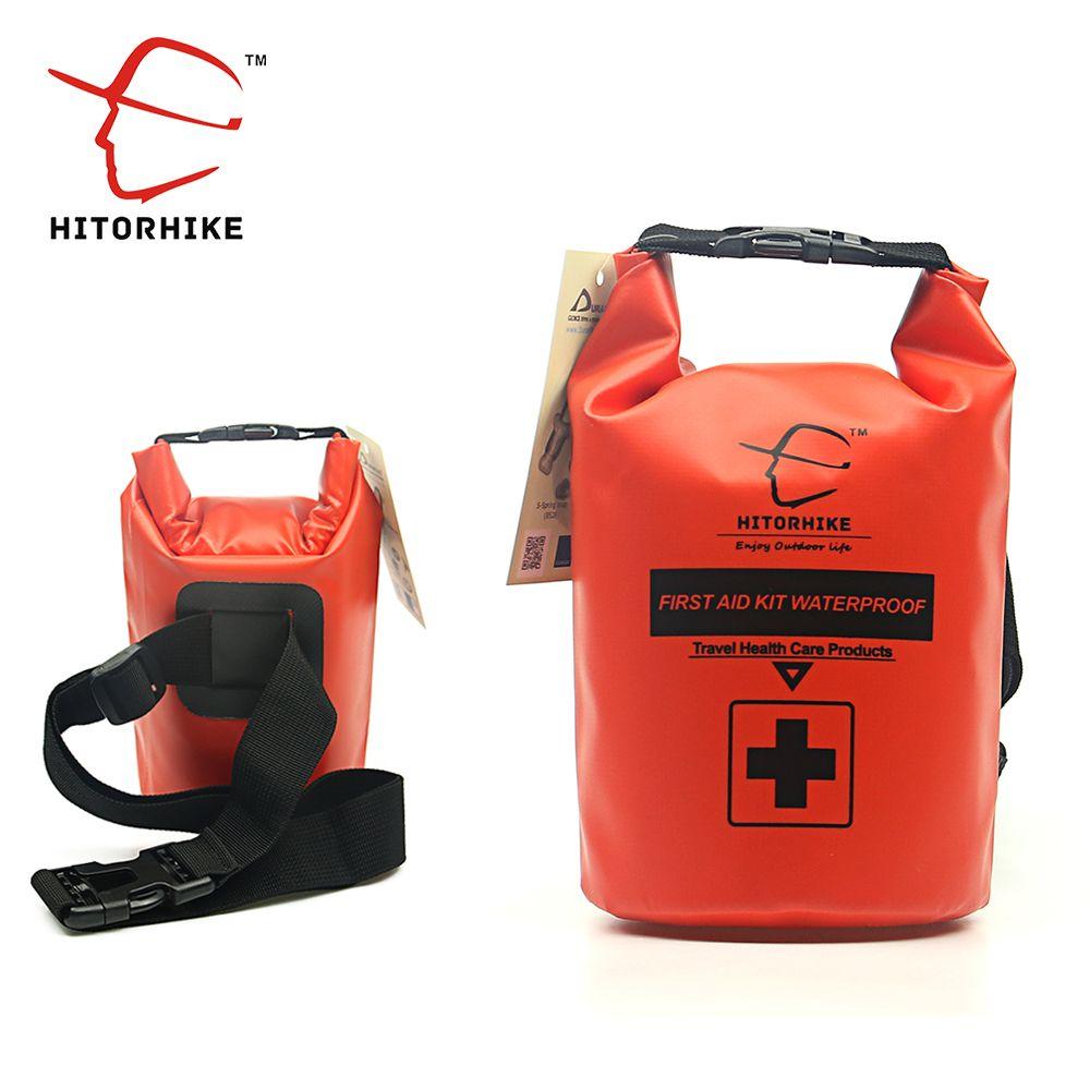 Wasserdichter packsack 2L First Aid Kit Bag Notfall Reisetasche Rafting Camping Kajak Tragbare Medizinische Leichte Kanu Tasche