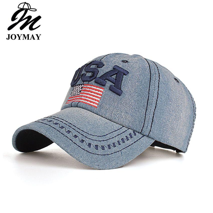 2016 nouveauté haute qualité snapback casquette coton casquette de baseball USA drapeau broderie chapeau pour hommes femmes unisexe casquette B351