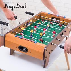 Magideal Lucu 1 PC Meja Sepak Bola Permainan Sepak Bola Meja Olahraga untuk Rumah Pesta Keluarga Leisure Meja Permainan Mainan Anak hadiah Hijau