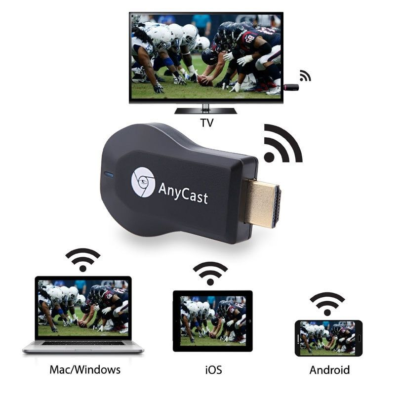 HDMI Full HD1080P Miracast DLNA Airplay M2 Anycast TV Stick WiFi affichage récepteur Dongle Support Windows Andriod TVSE3