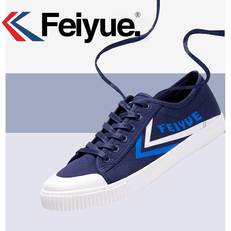 Original 2017 Feiyue Classical Feiyue Shoes Kungfu Shoes Martial Shoes Soft and comfortable Sneakers Men women Size