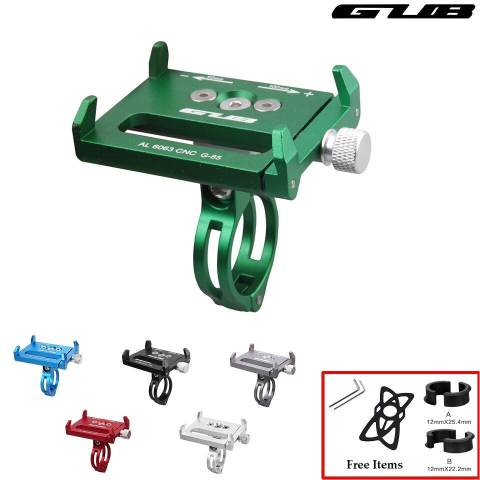 GUB G-85 Bicycle <font><b>Handlebar</b></font> Phone Holder Cycling Universal Phone GPS Support Motorcycle 3.5 to 6.2 Inches Smartphone Bracket