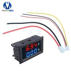 Mini Digital Voltmeter Ammeter 0.28 inch DC 100V 10A Panel Amp Volt Current Meter Tester 0.28