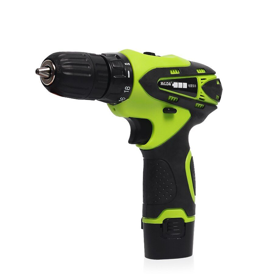 12V Electric Screwdriver Lithium Battery Electric Drill Rechargeable Parafusadeira Furadeira Multi-function Cordless Power Tools