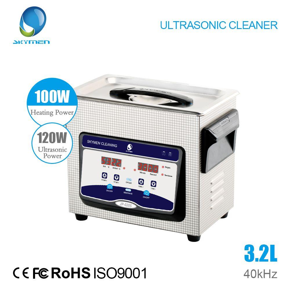 SKYMEN Digital Ultraschall Reiniger Bad 3.2L 120 W 40 kHz Kommerziellen Komponente Krankenhaus Medizinische Ausrüstung/Geräte Reinigung