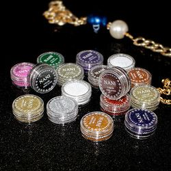 NOUVEAU 1 Pc Eye Glitter Shimmer 24 Couleurs Eye Palette Faire up Outils Monochrome Yeux Shimmer Poudre Pailleté Pour Les Yeux Maquillage Outil TSLM1