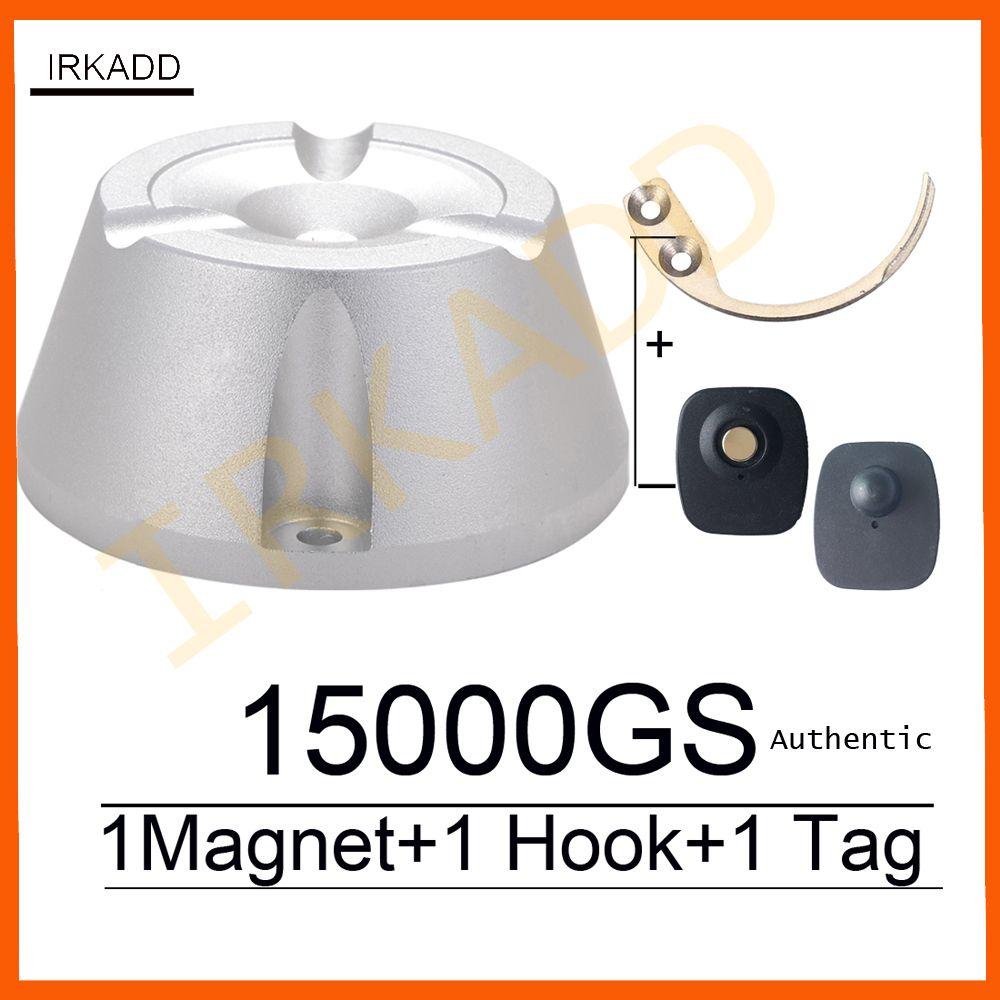 15000GS universel détacheur magnétique vol à l'étalage aimant 1 pièce crochet détacheur clé détacheur eas étiquette de sécurité détacheur 100% travail