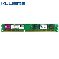 Kllisre DDR3 8GB 4GB Memory with Heat Sink 1600Mhz 1333MHz 240pin 1.5V Desktop ram dimm
