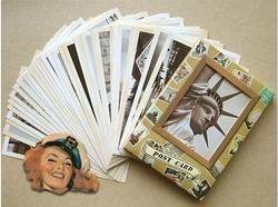 32 pcs/ensemble NEW Vintage architectural paysage carte voyage jeu jeu de Carte Postale De Voeux Carte-Cadeau