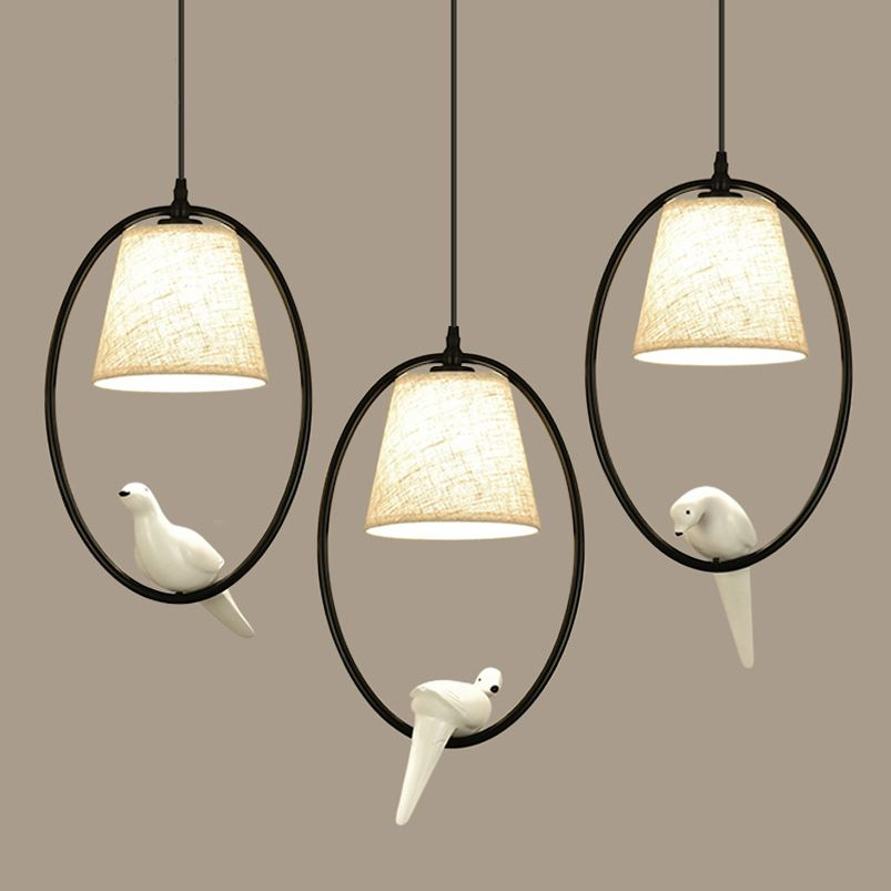 Loft Vintage bird light bedroom living room restaurant cafe corridorr dining room <font><b>chandelier</b></font> suspension luminaire pendant lamp