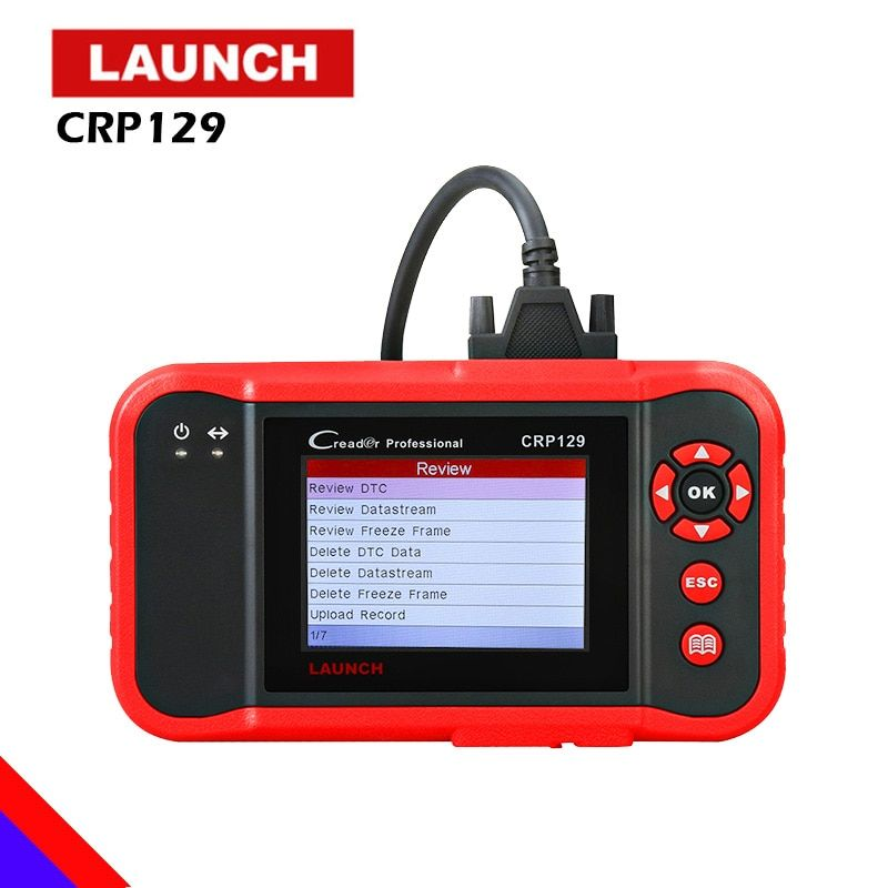 2018 New Original Launch X431 Creader CRP129 Code Reader Scan Tool ENG AT ABS SRS EPB SAS Oil Service Light resets Code Scanner