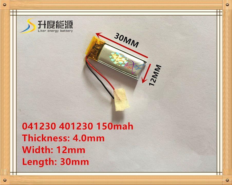 3.7 В 041230 401230 150 мАч гарнитура Bluetooth литий-полимерная батарея bt2010/bt135