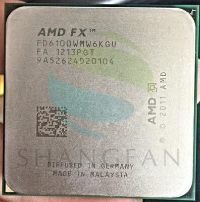 AMD FX-Serie FX6100 3,3 GHz SECHS-Core CPU Prozessor FX 6100 FD6100WMW6KGU 95 Watt Sockel AM3 +