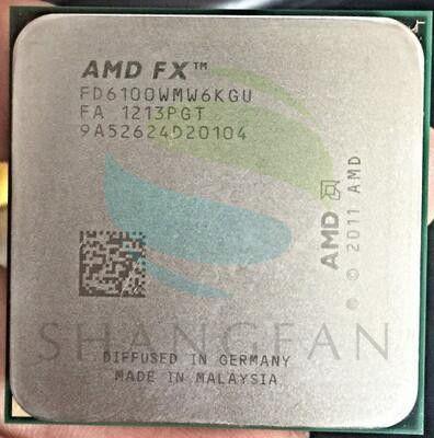 AMD FX-Series FX6100 3.3GHz SIX-Core CPU Processor FX 6100 FD6100WMW6KGU 95W Socket AM3+