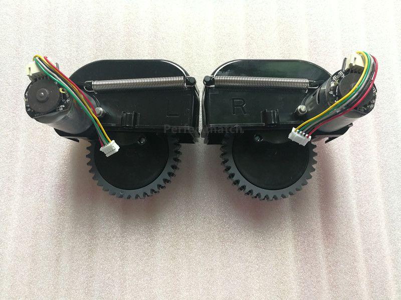D'origine Gauche + Droite roue pour robot aspirateur ilife V3s pro V5s pro robot Aspirateur Pièces comprennent moteur remplacement