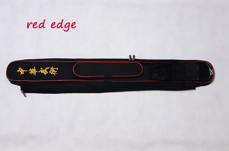 Double sword bag Taichi Kungfu Paulin Sword 110cm, Bag Case  Sword Bag Sword Carrying Case With  stick bag