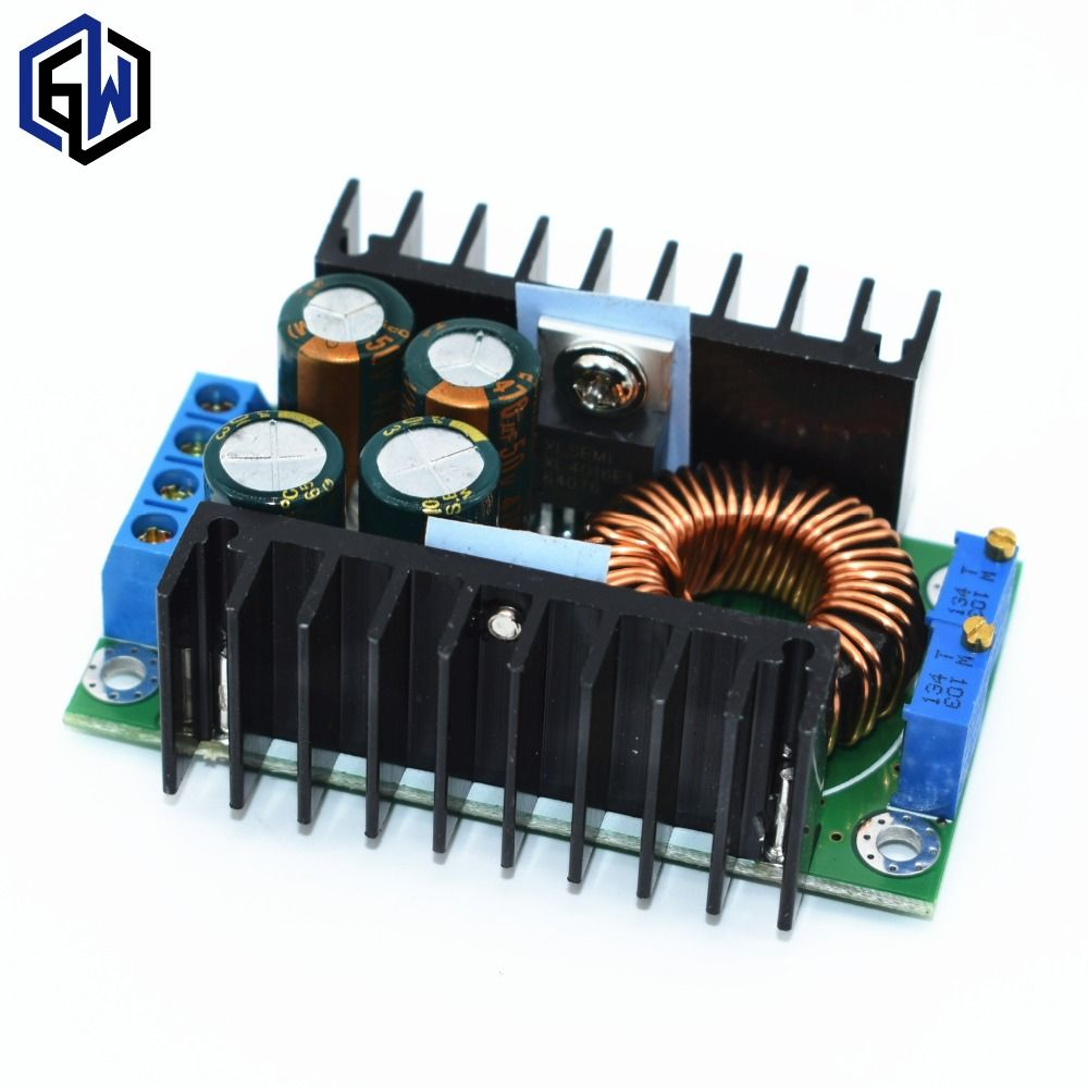 TENSTAR ROBOT DC to DC 9A 250W CC CV XL4016 moule Constant current constant voltage 7v -32v to 0.8-28V The charging module