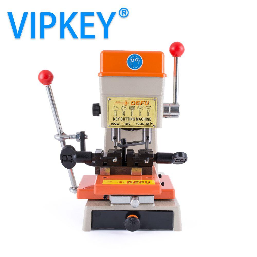 DEFU 339C 110v 220v Key Cutting Machine for make copy car and house keys drill copy machine key cutter locksmiths supplies tools