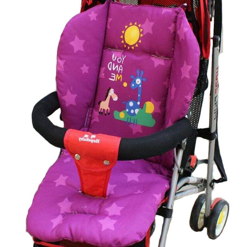 Kinderwagen Sitzkissen Auto Thermischen Pad Kind Wagen Kissen Cartoon Warenkorb Kinderwagen mattresse Kissenbezug LL