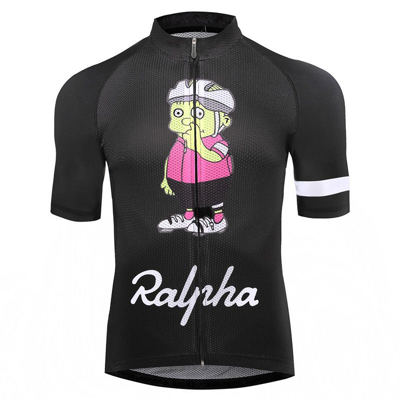 Simpsons Ralpha bicycle Jersey bike Jerseys road track MTB race cut aero cycling jersey man men italian clothing quick dry short