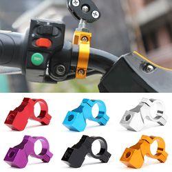 1 PCS 10 MM Moto Miroir Rétroviseur Support Vélo Accessoires De Radoub Miroir Supports Fixe Café Racer