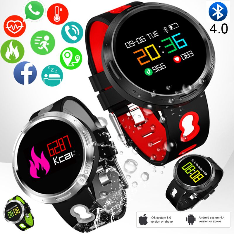 BANGWEI New Men Smart sport Watch Women LED Clock Blood Pressure Heart Rate Monitor Fitness Pedometer Bluetooth Smart bracelet