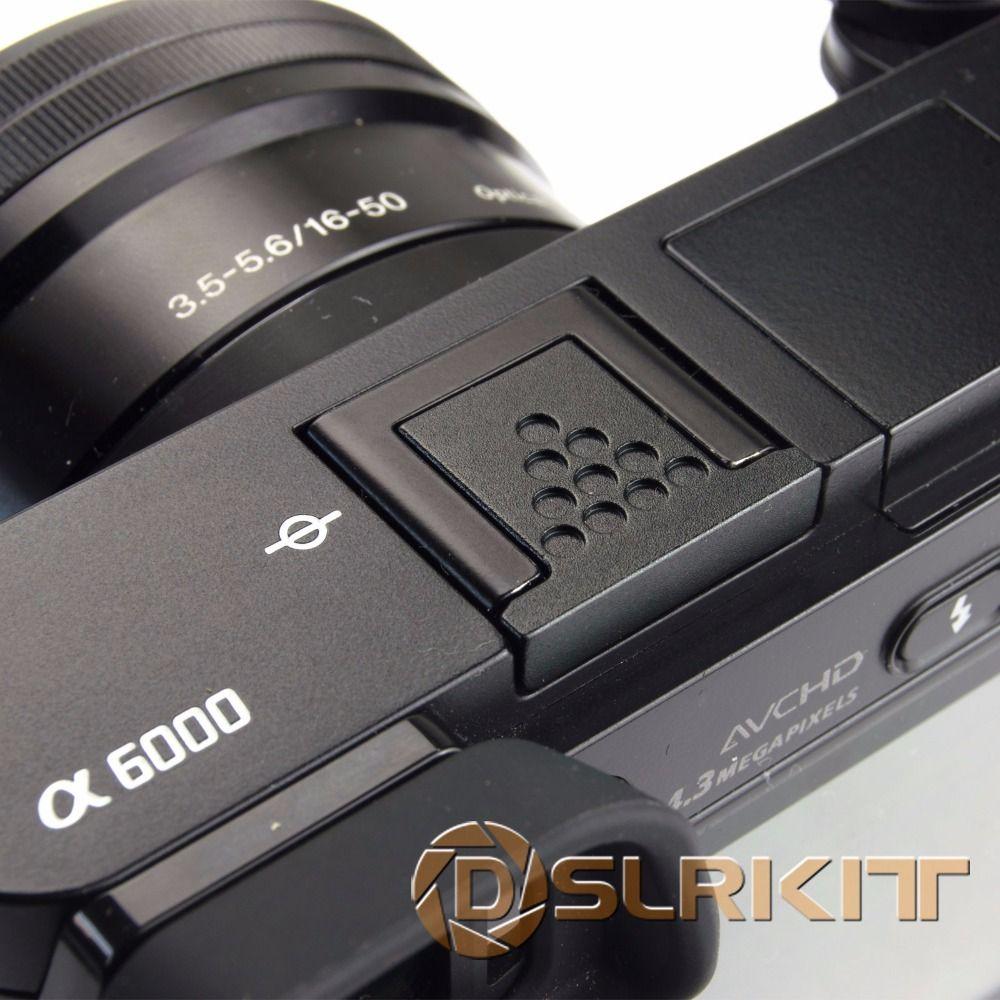 Black Metal Hot Shoe Cover for Sony A6500 A6300 A6000 A3000 A7RM2 A77M2 NEX-6 Camera