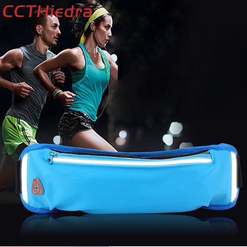 Ccthiedra бренд Универсальный мобильный телефон сумка Спортивная Талии Ремни сумка на молнии Бег повязки Чехол Сумки для iphone 8 X/ xiaomi/Huawei