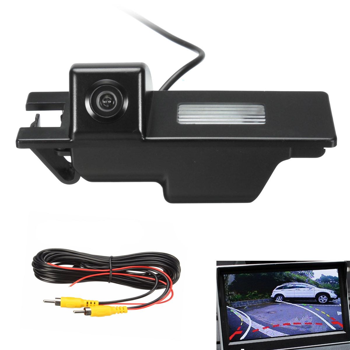 2016 Newest Rear View Reversing Camera Cam For Opel /Vauxhall /Corsa /Astra /Zafira /Vectra