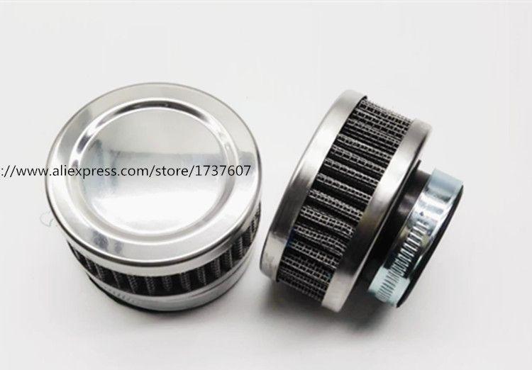 1pcs Stainless Ring Motorcycle Air Filter 32MM 35MM 38MM 48MM 54MM 60MM Cleaner For SR400 HONDA CB550 CB750 Kawasaki KZ650