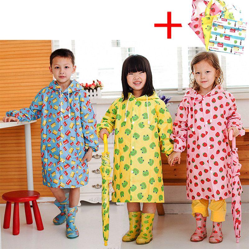 Enfants Imperméable Enfants Mignon Capa De Chuva Infantil Étanche Japon manteau De Pluie Enfant Couverture poncho De pluie À Capuche Imperméable