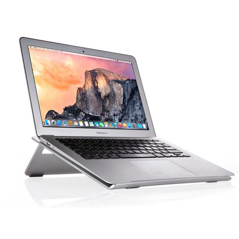 Seenda Aluminium Laptop Stehen Verstellbare Notebook Halter Schreibtisch Dock Tablet Halterung Kühler Cooling Pad für MacBook für iPad Air
