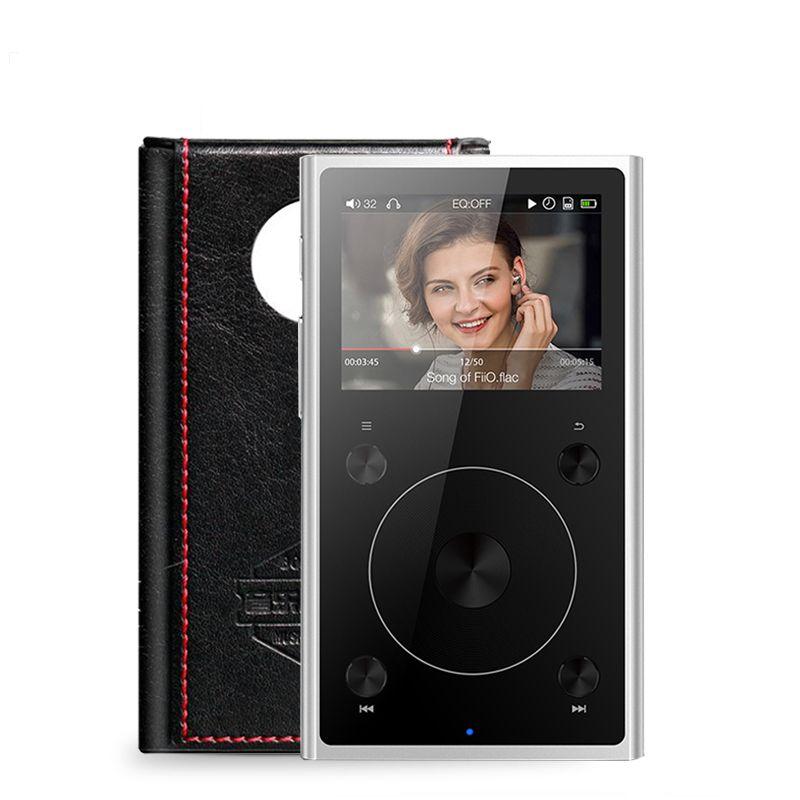 Fiio X1 II X1ii X1 2ème gen (+ Leathe cas) haute Résolution Sans Perte Musique Lecteur 192 kHz/32bit Dual mode Bluetooth 4.0 Portable