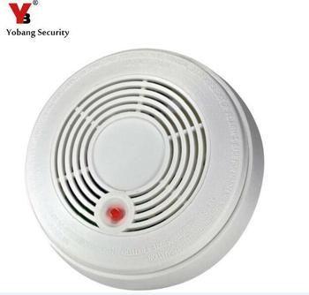 Yobang Sécurité Batterie Alimenté Combinaison Fumée Alarme Monoxyde de Carbone CO Empoisonnement Capteur Photoélectrique CO et Détecteur de Fumée
