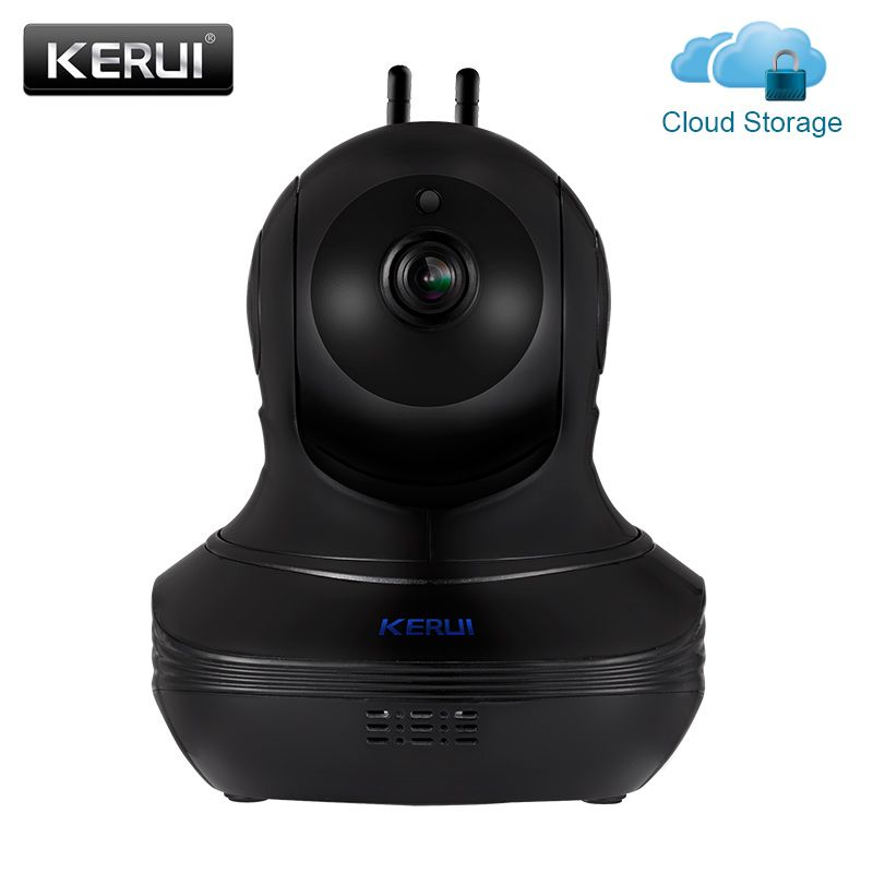 KERUI 1080P Full HD Indoor Wireless Home Security WiFi <font><b>Cloud</b></font> Storage IP Camera Surveillance Camera Home Alarm Camera