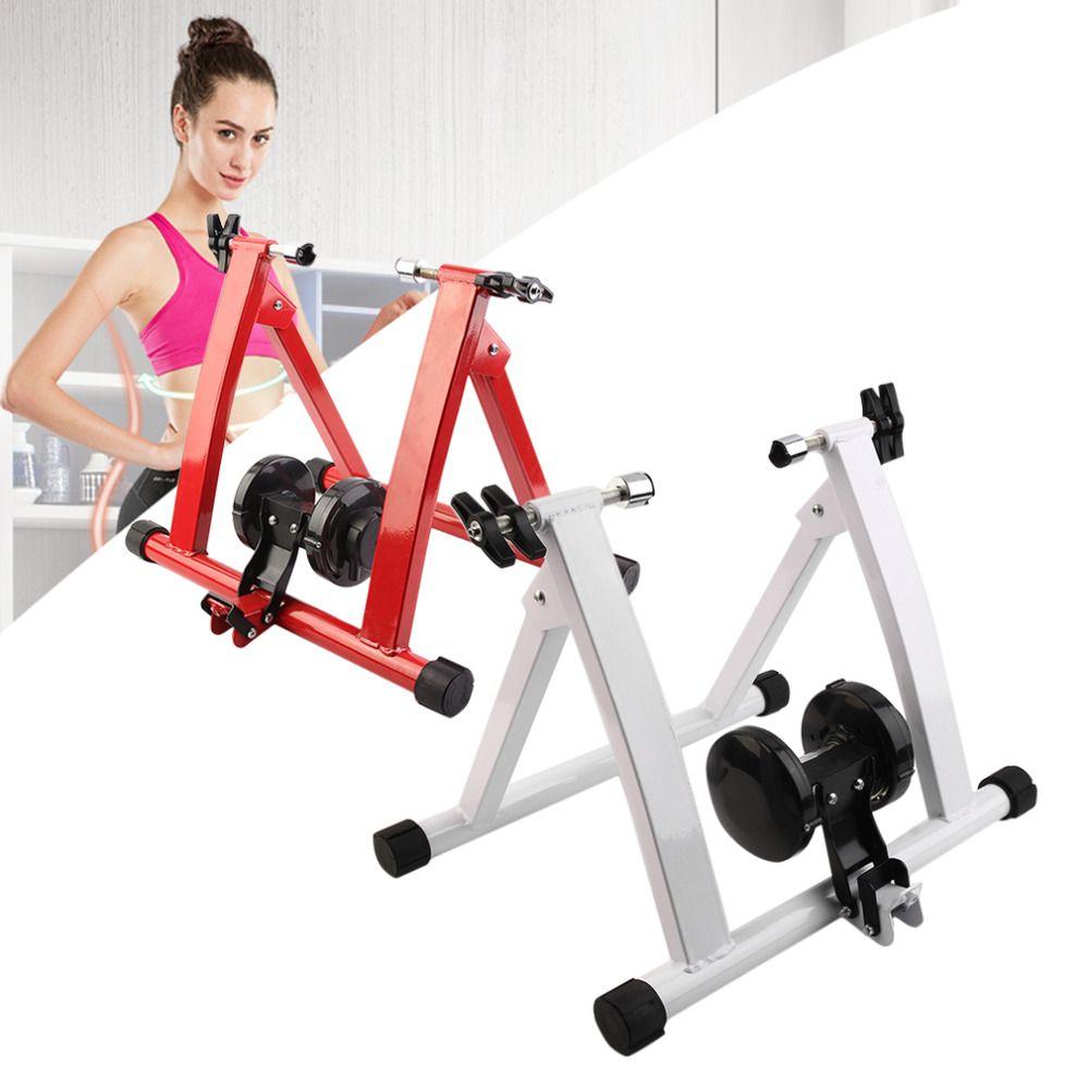 Stahl Radfahren Mountainbike Indoor-Training Station Rennrad Parkplatz Station Bike Indoor Übung Trainer Stehen Hot von R
