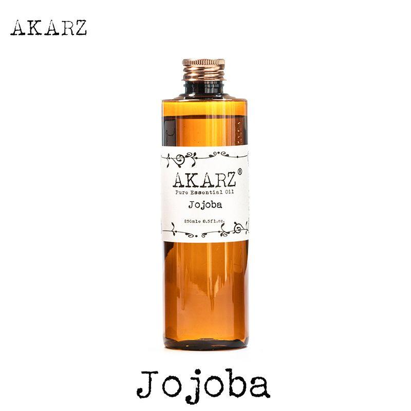 AKARZ célèbre marque huile de Jojoba aromathérapie naturelle haute capacité soins de la peau massage spa huile essentielle de Jojoba