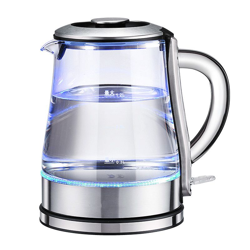 Electric kettle glass electric kettle is used for cooking the quick kettle 304 stainless steel automatic power failure kettl