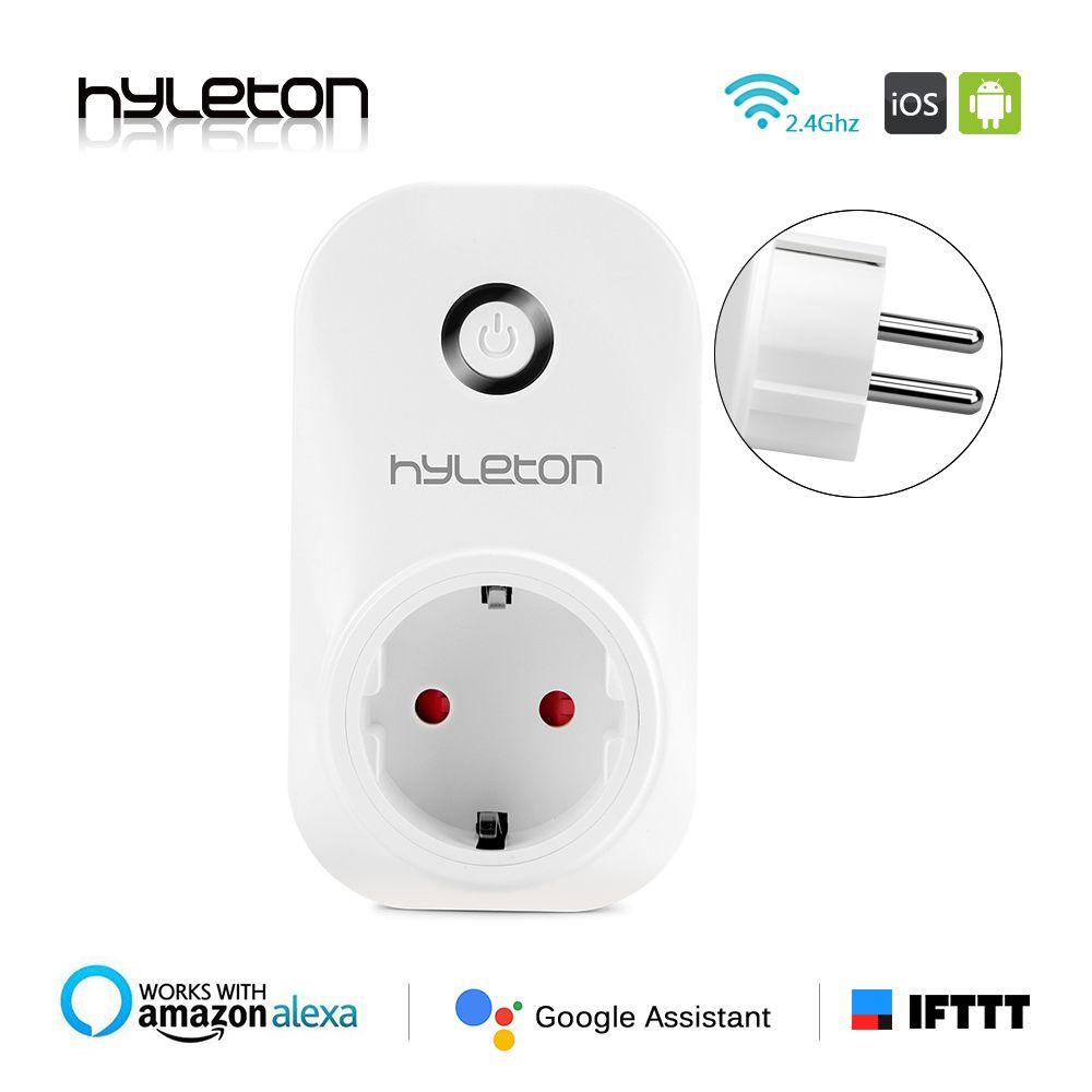 Hyleton smart stecker wifi sockel fernbedienung wechseln 10A Unterstützung 2,4 GHz Wifi stecker Netzwerke Elektrische EU/US/AU/UK Netzschalter