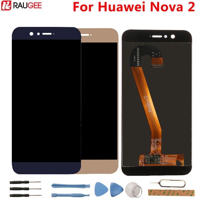 Huawei Nova 2 LCD Display+Touch Screen High Quality 100% New Digitizer Screen Glass Panel For Huawei Nova 2 5.0 Inch