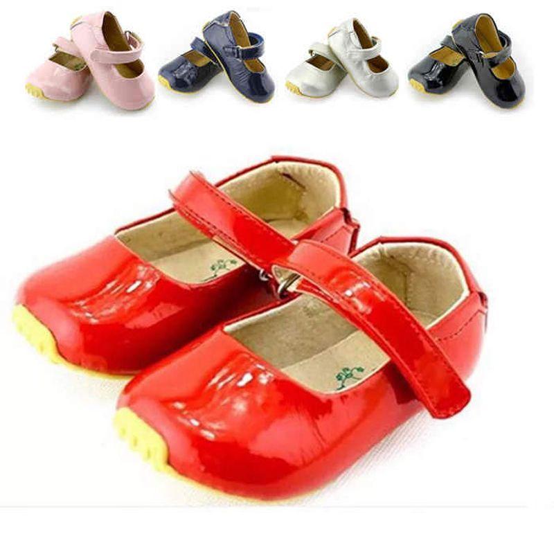 Tipsietoes Primavera Otoño Estilo de Encaje Niños Niñas Zapatos de Los Niños Bebé de La Manera de Cuero de La Boca baja Ocasional Cuteshoe Comfy Nmd