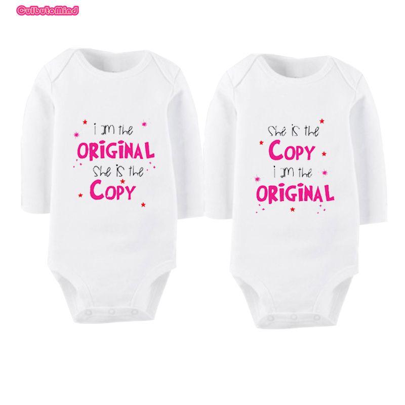 Culbutomind с длинным рукавом Модная одежда для детей, Детская мода Одежда и аксессуары для девочек близнецов Одежда для малышей Наборы для ухода...