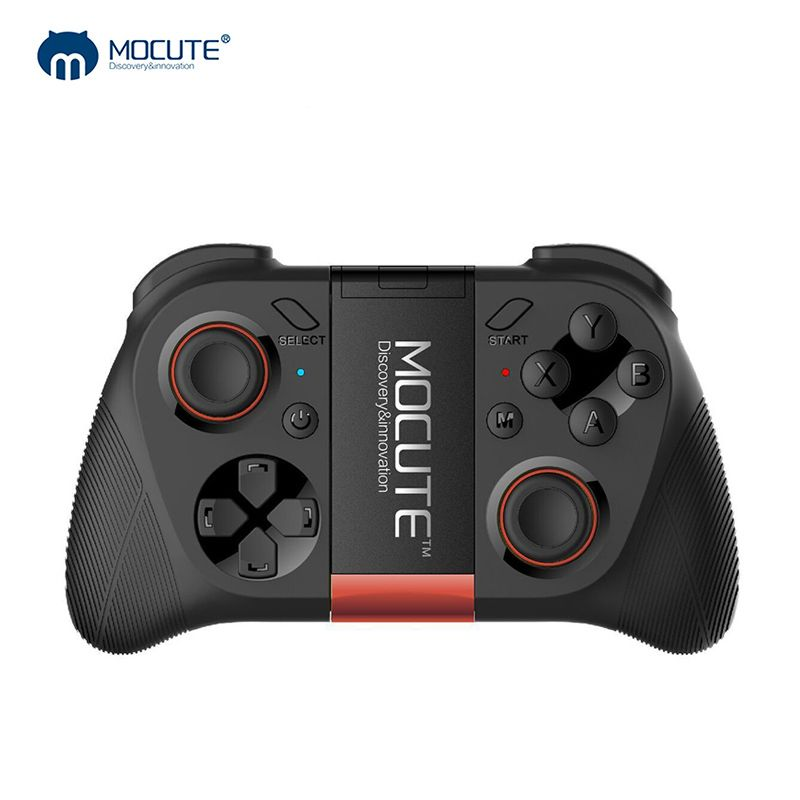 MOCUTE 050 VR Game Pad Android Joystick Bluetooth Controller Selfie Remote Control Shutter Gamepad for PC <font><b>Smart</b></font> Phone + Holder