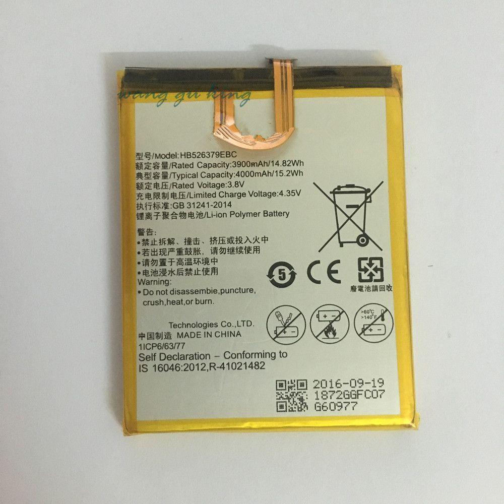 3.8V 4000mAh HB526379EBC For Huawei Enjoy 5 TIT-AL00 CL10 Battery 100% Original New Replacement Battery accumulators