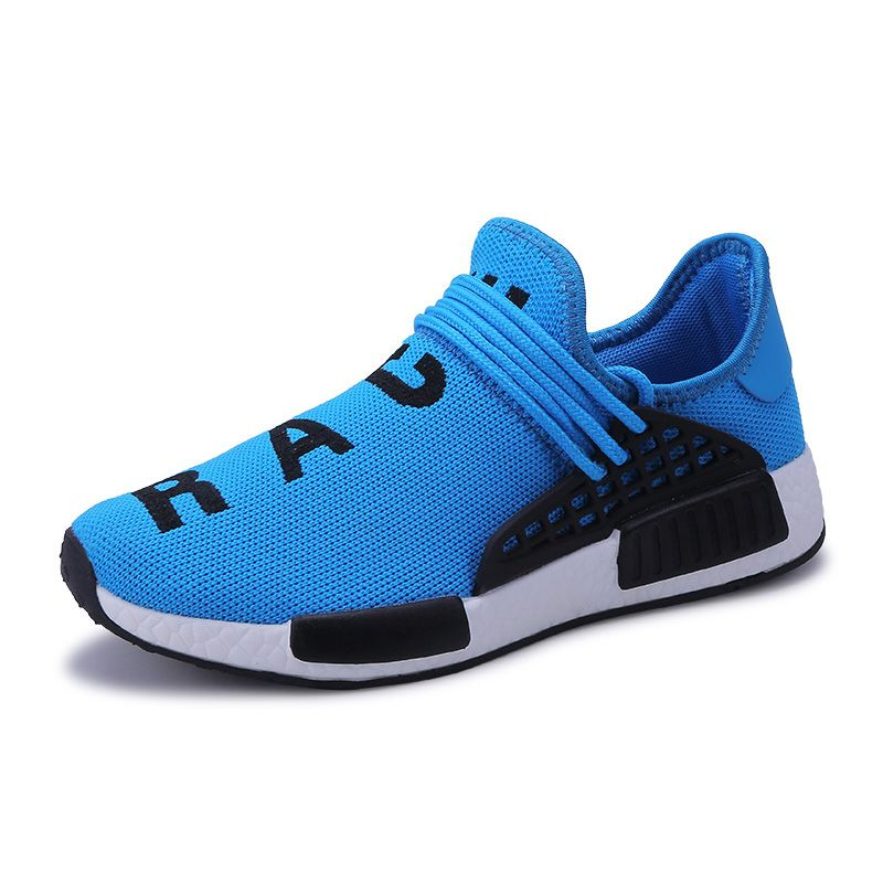 Shoes Men Outdoor Trainers Ultra <font><b>Boosts</b></font> Zapatillas Deportivas Hombre Tenis Breathable Casual Superstar Shoes Human Race Krasovki