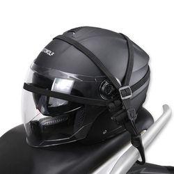 Universal moto casco malla Net Red de equipaje para moto protectora Engranajes equipaje Ganchos motocicleta Accesorios organizador titular